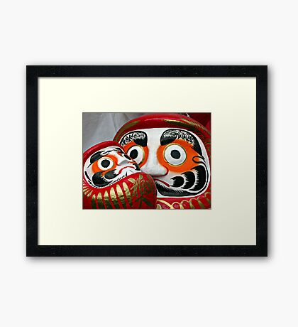 An Eye for the Future Framed Print