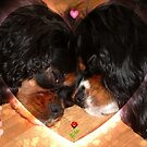 Charlie and Poppy Valentine by AnnDixon