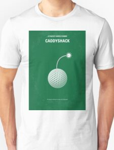 No013 My Caddyshack minimal movie poster T-Shirt