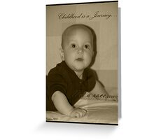 Landon Robert Matthew Bell Greeting Card