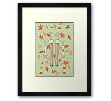 fall (in love) Framed Print