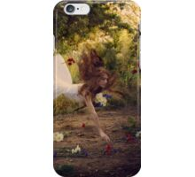 It Rained Flowers When the Music Began iPhone Case/Skin