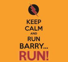 RUN BARRY RUN (The Reverse)! by robinzson13