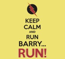 RUN BARRY RUN (The Reverse)! Kids Tee
