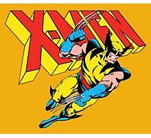 X-Men Wolverine Retro Comic Photographic Print
