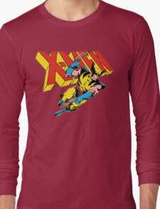 X-Men Wolverine Retro Comic Long Sleeve T-Shirt