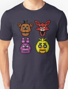 Five Nights at Freddy's 1 - Pixel art - The Classic 4 T-Shirt