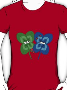 A blue clover in love T-Shirt