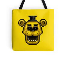 Five Nights at Freddy's 1 - Pixel art - Golden Freddy Tote Bag