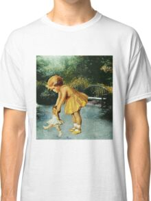 OUT FOR A STROLL IN THE GARDEN Classic T-Shirt