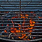 HDR - Coals Ready To Cook by Doug Greenwald