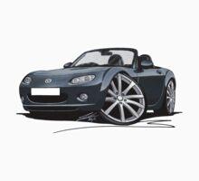 Mazda MX5 (Mk3) Grey by Richard Yeomans