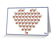 Heart of Snails Greeting Card