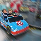 Little boys' thrill ride. by David Chesluk