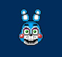 Five Nights at Freddy's 2 - Pixel art - Toy Bonnie by GEEKsomniac
