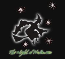 Halloween The Witch's Night T-shirt, etc. design Kids Clothes