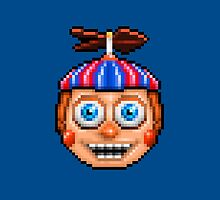 Five Nights at Freddy's 2 - Pixel art - Balloon Boy by GEEKsomniac