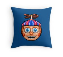Five Nights at Freddy's 2 - Pixel art - Balloon Boy Throw Pillow