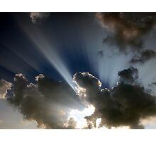 Crepuscular Rays Photographic Print