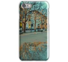 FESTIVE PUDDLE. (Unter Den Linden, Berlin) iPhone Case/Skin