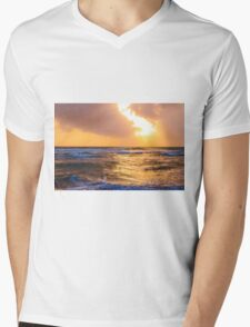 Gentle Touch Mens V-Neck T-Shirt