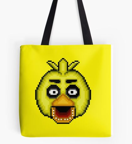 Five Nights at Freddy's 1 - Pixel art - Chica Tote Bag
