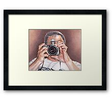 My Favorite Photographer  Framed Print