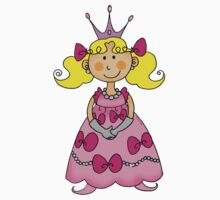 Cute little princess in pink dress  Kids Clothes