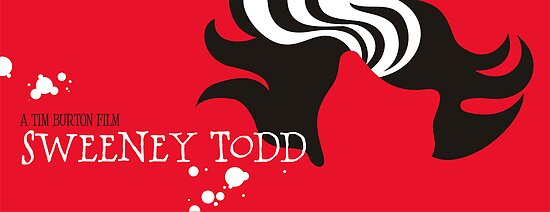 Minimalist Movie Poster:Sweeney Todd by sandygrafik