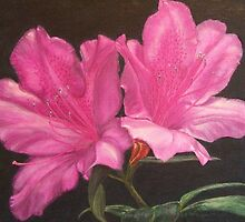 Pink Azaleas by Cathy McGregor