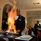 Bananas Foster at Brennan's New Orleans by Bonnie T.  Barry