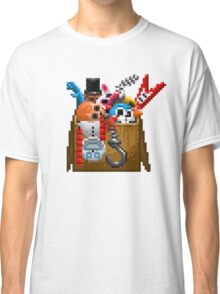 Five Nights at Freddy's 3 - Pixel art - What can we use? - Box of animatronics Classic T-Shirt