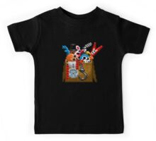 Five Nights at Freddy's 3 - Pixel art - What can we use? - Box of animatronics Kids Tee
