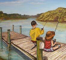 Fishin' by Cathy McGregor