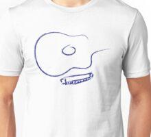 Guitar and Harp Brush Strokes Unisex T-Shirt