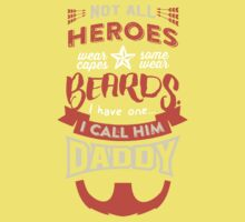 Dads  are HEROES too!  One Piece - Short Sleeve