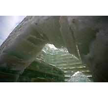 Frozen Arches Photographic Print
