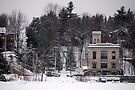 Saranac Lake NY USA by John Schneider