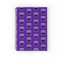 Five Nights at Freddy's 2 - Pixel art - Purple Man Spiral Notebook