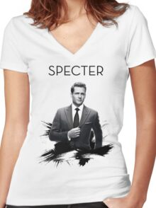 Awesome Series - Specter Women's Fitted V-Neck T-Shirt