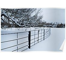 Cold Fence Poster