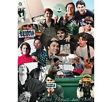 The Front Bottoms Collage  Photographic Print
