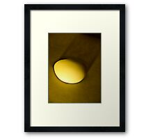 A morning is about to occur Framed Print