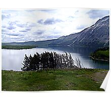 MIddle Waterton Lake Poster