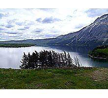 MIddle Waterton Lake Photographic Print