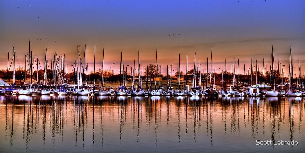 Boats at Rest by Scott Lebredo