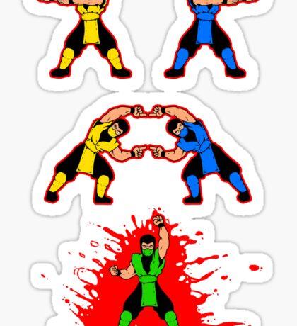 Mortal Fusion Sticker