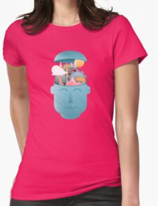Turning Cogs Womens Fitted T-Shirt
