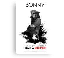 Awesome Series - Bonny Canvas Print