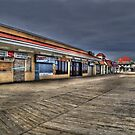 Rehoboth Beach Boardwalk, Late January by 6strings